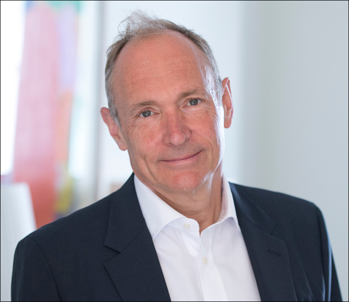 2016 A.M. Turing recipient Tim Berners-Lee
