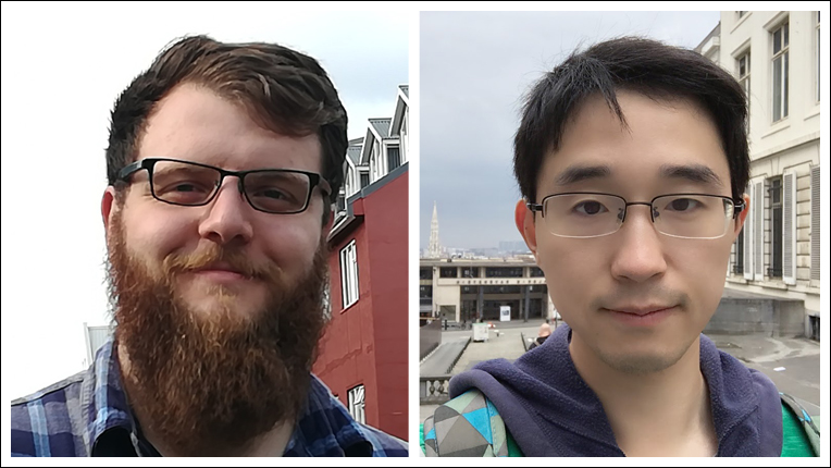 2017 ACM/IEEE George Michael Memorial HPC Fellowship recipients Shaden Smith and Yang You