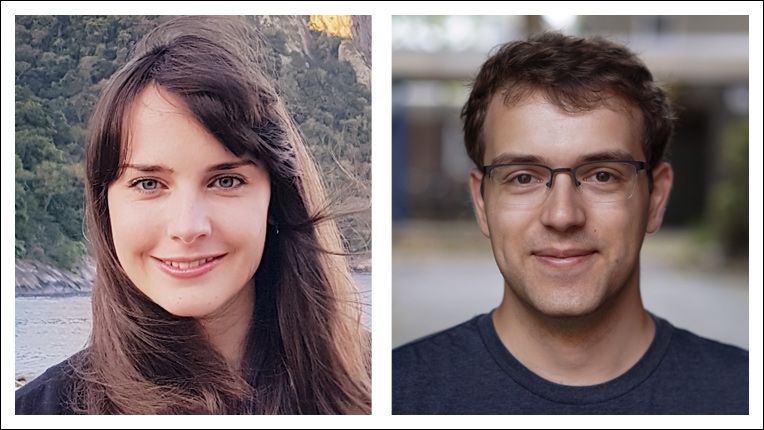 2018 ACM-IEEE CS George Michael Memorial HPC Fellowship recipients Linda Gesenhues and Markus Höhnerbach