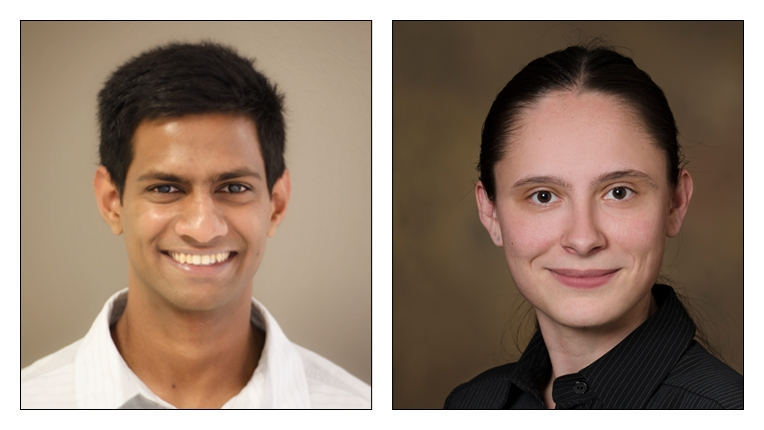 2019 ACM-IEEE CS George Michael Memorial HPC Fellowship recipients Milinda Shayamal Fernando and Staci Smith
