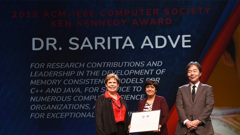 2018 Ken Kennedy Award recipient Sarita Adve