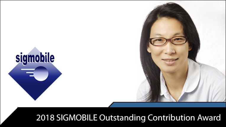Photo of 2018 SIGMOBILE Outstanding Contribution Award recipient Teresa Meng